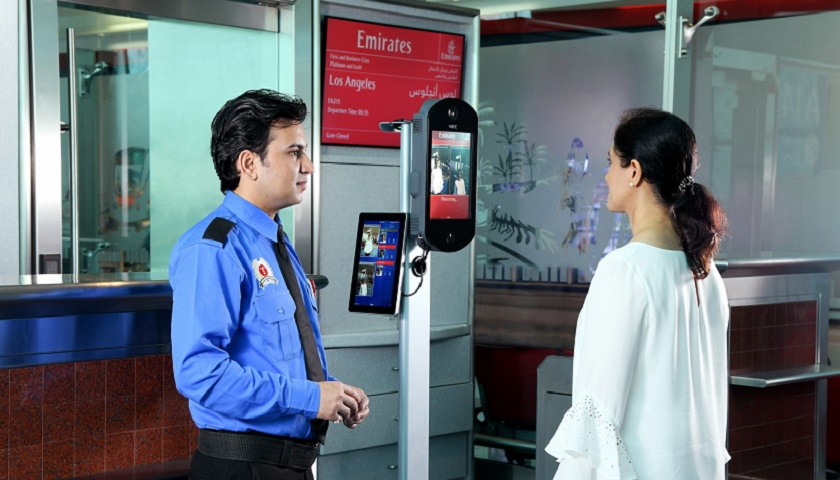 Emirates successfully piloted biometric boardingfor flights from Dubai to New York and Los Angeles in July and August.