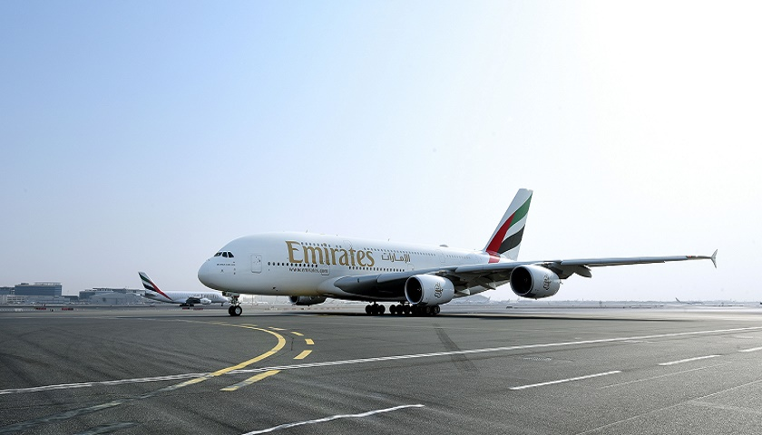 Emirates first A380 to Cairo [Image: Emirates]