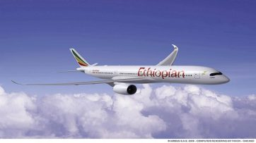 Ethiopian Airlines Google Street View tour of 350