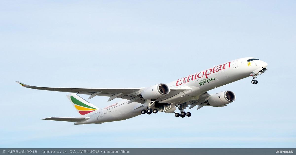 Ethiopian Airlines Airbus A350-90