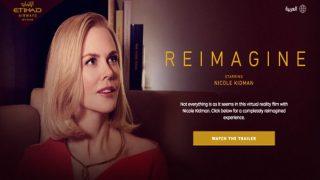 Etihad releases VR film with Nicole Kidman