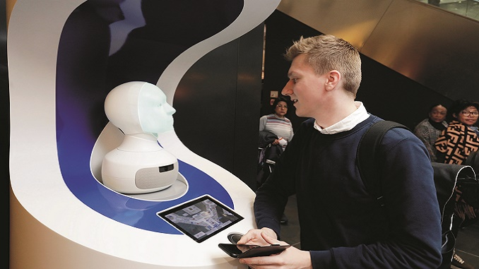 FRAnny - Frankfurt Airport robotic concierge