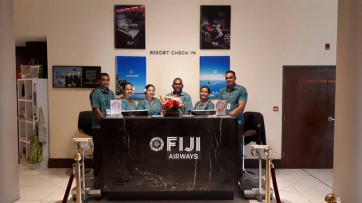 Fiji Airways Resort check-in