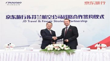 Finnair signs with JD Travel
