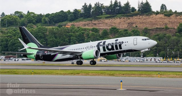 Flair Airlines Boeing 737-8 MAX