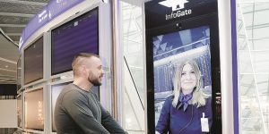 Frankfurt Airport has new interactive InfoGates