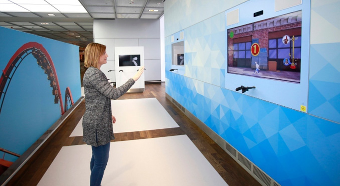 With the Gaming World, Frankfurt Airport is taking a new approach to helping passengers spent their waits enjoyably