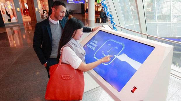 Frankfurt Airport's new Interactive Airport Desk