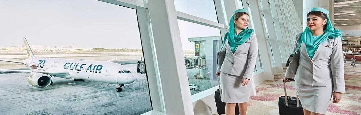 Gulf Air at new Bahrain termina