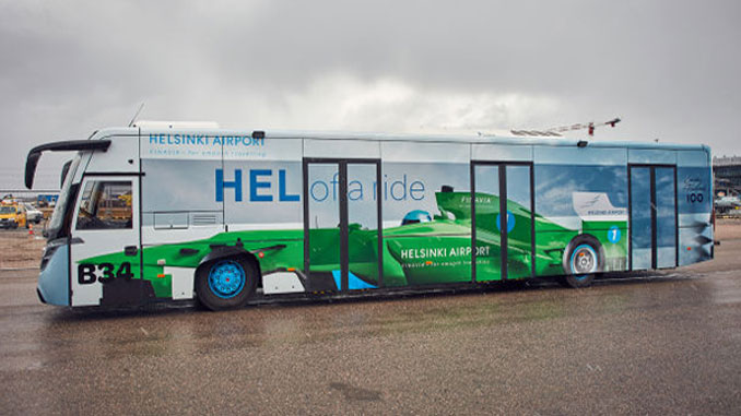 The Formula 1 bus embodies the love of Finns towards motor sports and Finland's Formula 1 and rally success.