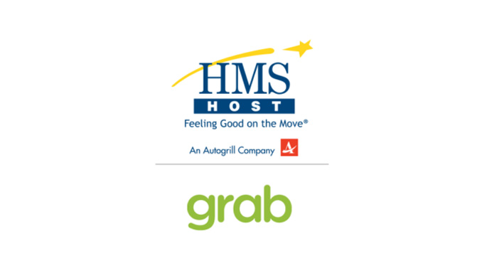 HMSHost and Grab food ordering by app at 80+ airports