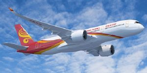 Hainan Airlines makes first commercial flight with Airbus A350