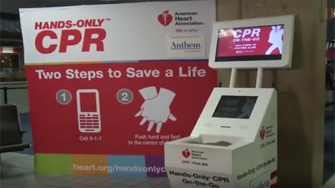 CPR kiosks at US airports