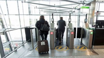Heathrow biometric boarding
