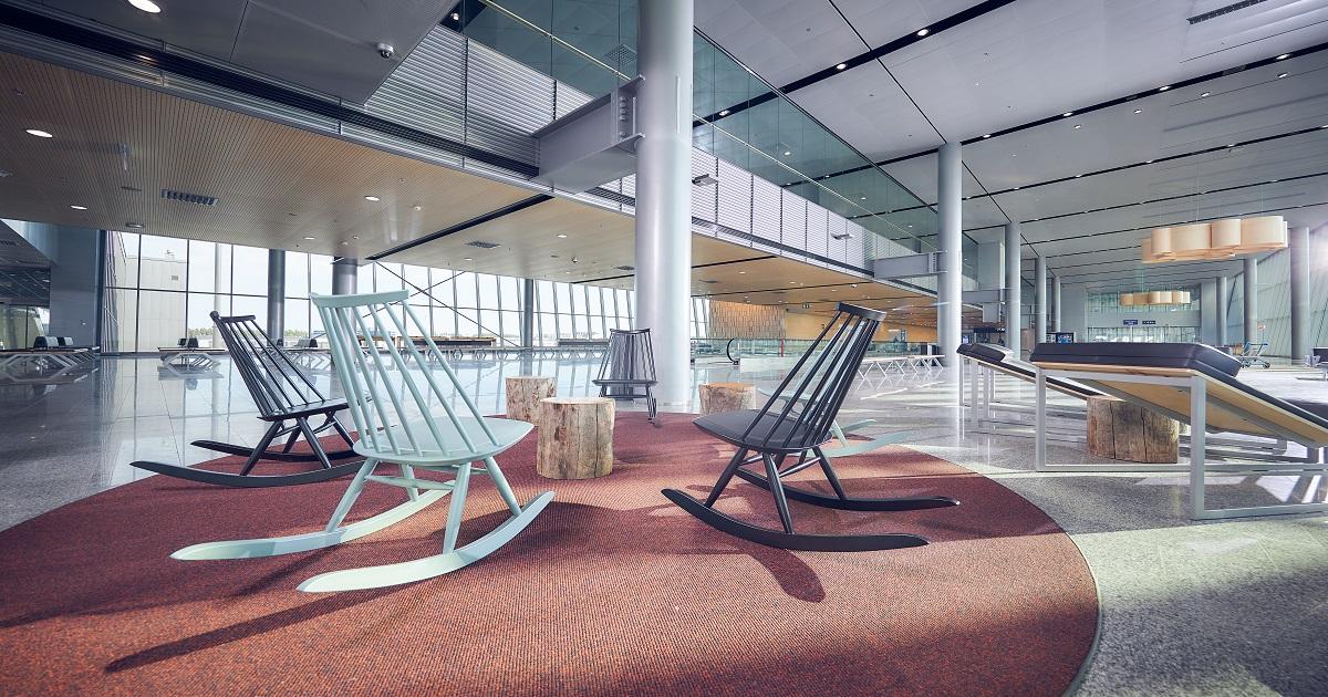 Helsinki Airport west pier 44