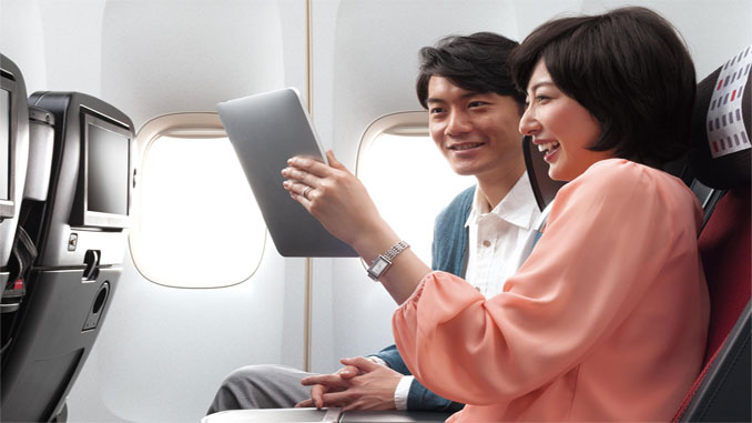 JAL offers free Wi-Fi on domestic flights