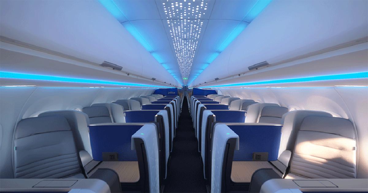 JetBlue A321LR Mint Cabin