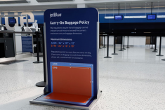 JetBlue starts charging for first checked bag