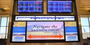 John Wayne Airport introduces interactive digital wayfinding