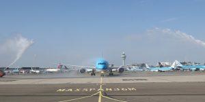 KLM operates its first Boeing 787-10 Dreamliner flight