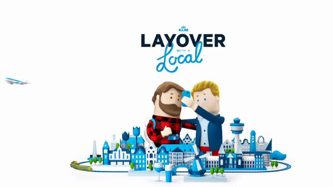 """KLM introduces """"Layover with a Local"""" service"""