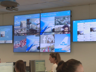 KLM social media team