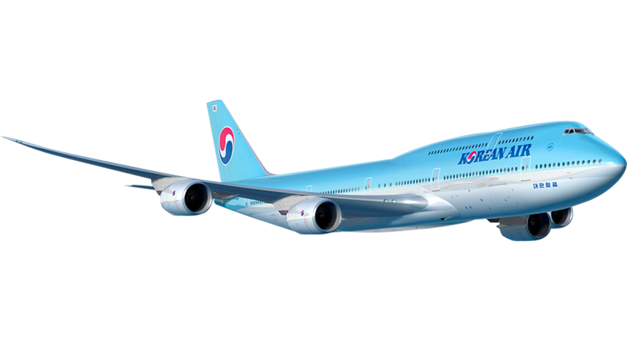 Korea Air's flight from Atlanta to Seoul takes about 15 hours
