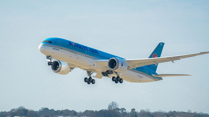 Korean Air gets its first Boeing 787