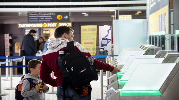 Larnaka installs boarding pass scanners