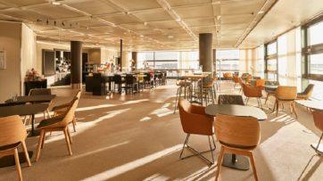 Lufthansa Frankfurt Panorama lounge