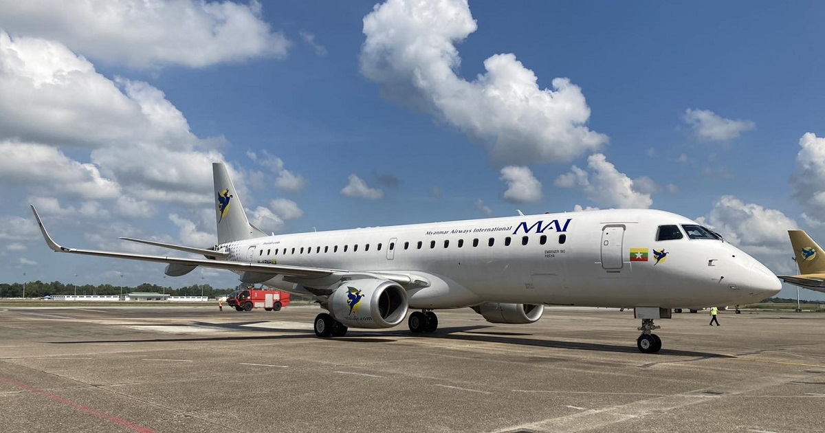 Myanmar Airways E190
