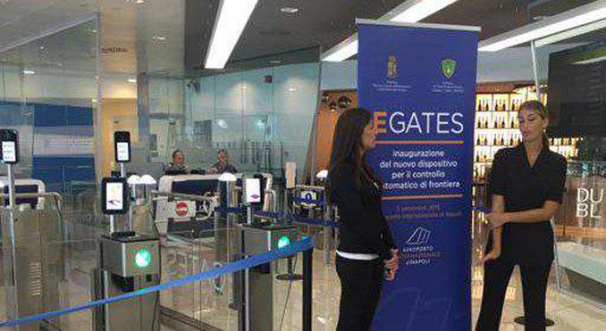 Naples introduces ABC eGates for EU passengers
