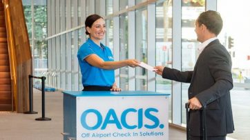 OACIS off airport check-in