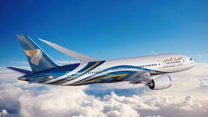 Oman Air adds its first Boeing 787-9 Dreamliner
