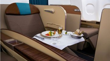 Oman Air upgrades A330-300 First Class Cabin