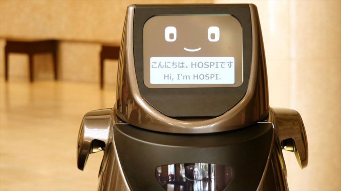Panasonic to trial HOSPI robot at Narita
