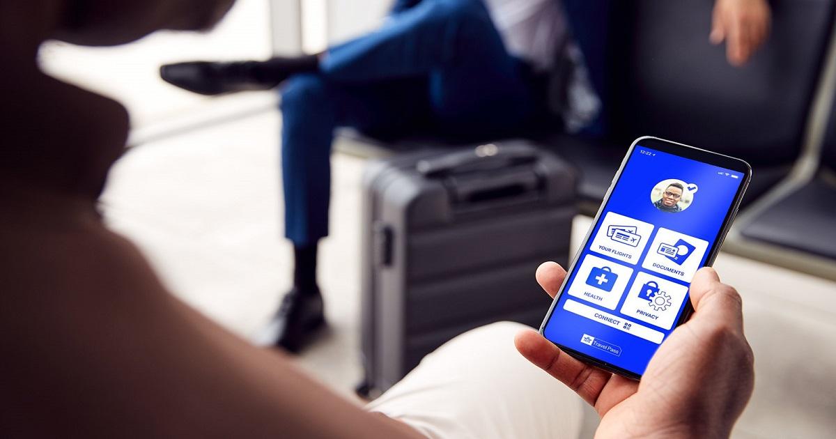 Passenger using IATA Travel Pass