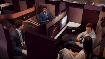 Qatar Airways unveils QSuite Business Class