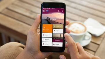 Qatar Airways mobile app