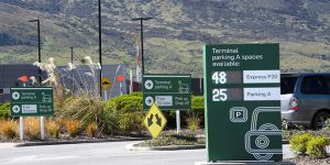New wayfinding signage guides passengers at Queenstown Airport