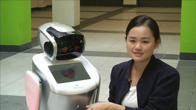 Robot customs officers debut in south China ports