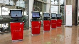 Royal Jordanian CUSS kiosk