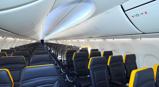 Ryanair new 737s to have Boeing Sky interiors