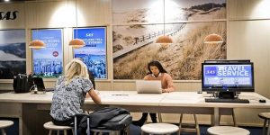 SAS improves the passenger experience at Copenhagen Airport