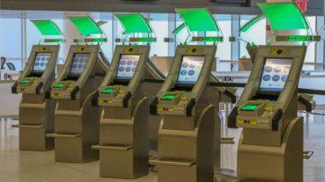 40 APC kiosks live at JetBlue's JFK T5