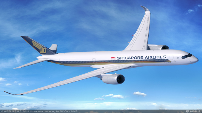 Singapore Airlines selects Thales for IFE and connectivity on A350 XWB