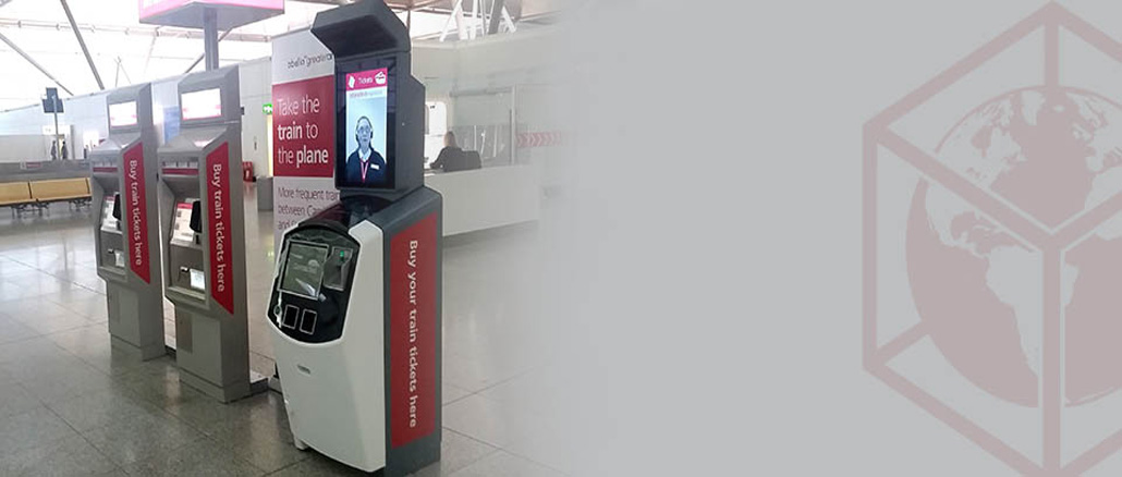 """Stansted trials UK's first """"Video Ticket Office"""""""