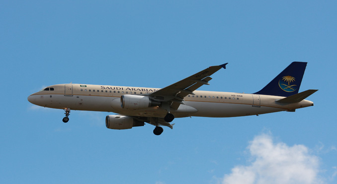 Saudia picks Panasonic for IFE on Airbus A320s