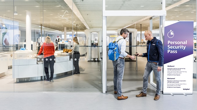 Schiphol security screening