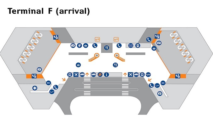 Sheremetyevo Terminal F arrivals